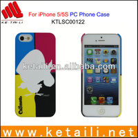 Made in China Custom Design ABS Mobile Phone Case with Rubber Oil Coating