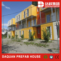 WUHAN DAQUANLow cost japanese wooden prefabricated villa container house /home /shop/booth/show room