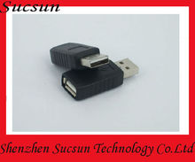 Male to Female USB connector, USB am to af travel adapter