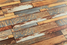 2015 new collection of laminate flooring with euro imported decorative paper