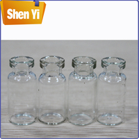 High-grade clear glass vial small capacity glass liquor bottles for sale