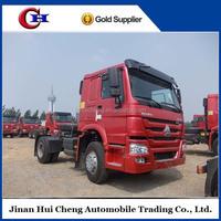 SINOTRUK HOWO right hand drive 6 wheeler diesel tractor truck 4x2