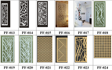 TEDA factory custom folding cheap partition wall lhome decoration