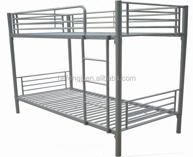 Cheap single metal twin bunk bed student bed frame buy for Cheap kids bed frames