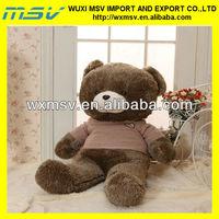 teddy bear plush toy/big brown teddy