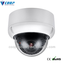 iluminación de bajo de vandalismo- resistencia ip domo de seguridad del hogar sistemas de control remoto de la cámara