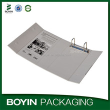 High quality a4 2 hole cardboard ring binder manufacturer