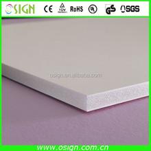white paper foam board