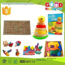 Preschool Educational Classical Toys Wooden Puzzle Blocks Toys Wooden Classical Toys