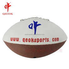 Wholesale promotional best quality inflatable customized pvc leather rugby ball small MOQ