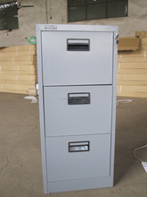 2015 hot sale 3 drawers under table office metal filing cabinet