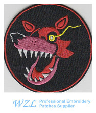 2015 latest design service dog patch for garment accessories