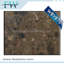 low price Excellent overall sense solid surface marble building material in 2.7m*1.8m