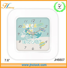 cartoon wall clocks 10 inch wall clock for gift