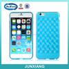 High quality fancy tpu soft case cover for iphone 6 with weave pattern