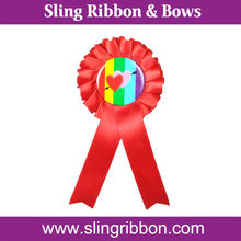 Wholesale Single Layer Red Horse Neck Ribbons