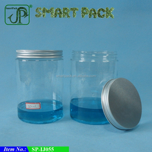 Big Size Mutifunctional Clear Storage Containers Plastic 25oz PET Jar