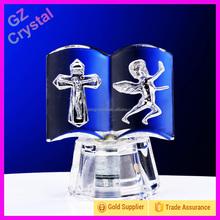 Glass angel supplier crystal christmas black angels