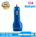 fábrica 5V2.1A Doble USB en Coche Cargador para Tablet PC
