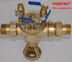 brass magnetic locable strainer plug valve
