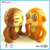 Custom plastic monkey figurines toys, plastic animal monkey toy figurines ShenZhen toys factory