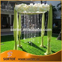 Christmas decorative crystal beaded curtain for wholesale