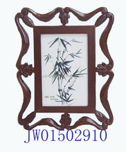 Chinese supplier custom photo frame/ wooden love photo frame/ picture photo frame