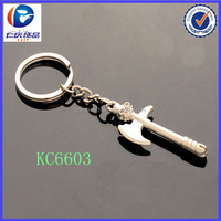2014 new products metal material main type ax tool keychain