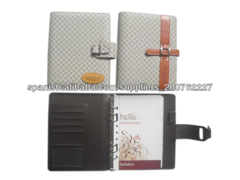 2013 cuadernos espirales organizador personalizados
