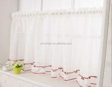 fashion cafe shop crochet lace curtains