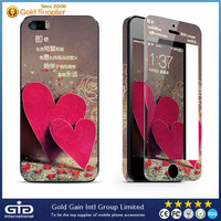 [GGIT] For iPhone 5S Cool 3D Cartoon Tempered Glass Screen Protector