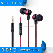 2014 Good quality professional E-E007 earphone metal 2012