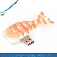 Fashion bulk item fish shape usb 2.0 driver