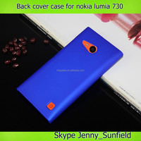 rubber paint ultra thin back cover case for nokia lumia 730,for nokia lumia case