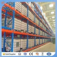 Q235 power coating ISO9001&CE multi-layer adjustable push back pallet racks