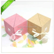 Art paper print custom sweet gift packaging boxes