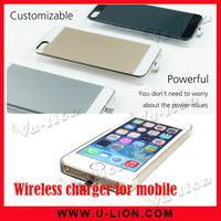 Qi Standard wireless charger receiving case for iphon5/5s wireless charging case ultra slim
