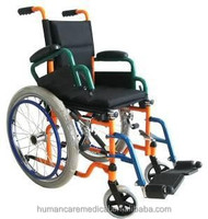 Foldable children powder coating Pediatric wheelchair of wheelchair companies