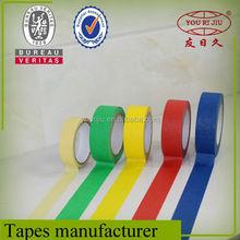Heat resistance masking tape, automotive masking tape, color masking tape