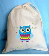 Christmas 2011 promotional cotton canvas bag with print logo