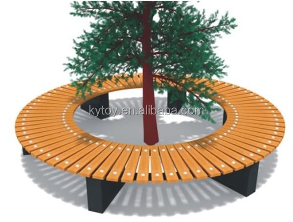 원형 정원 벤치, 둥근 나무 벤치 판매-나무 의자 -상품 ID:60054598934 ...