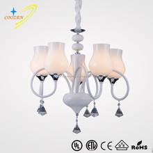 GZ20572-5P European design white type energy saving modern indoor decorative pendant light