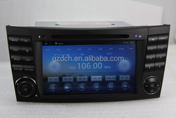HD1024*600 1g+16g 4.4.4 android car dvd gps for ben E-Class W211 CLK W209 W463 Support DVR TPMS WS-8797
