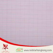 White stripe wholesale cotton fabric drawstring bag