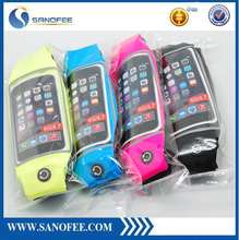 Hot selling sports running waist belt bag,running waist belt for iphone 6,running belt