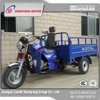 China new popular Single cylinder trike india three wheel motorcycle