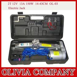 2T 13A 150W 12V electric car jack 14-43CM