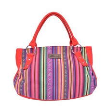 2015 Spanish Style Cotton Bag Printed Canvas Hot Sell In India