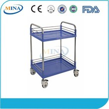 MINA-SPT720A Luxury CE ISO Approved Hospital Durable food delivery trolley