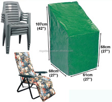 FC-252 outdoor furniture cover/stacking chair cover PE 130g/m2 BSCI